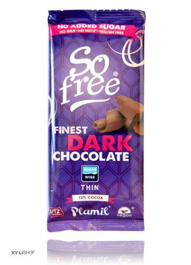 Xylit Schokolade SoFree 72% Kakao 80g