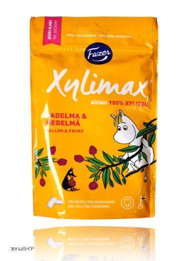 XYLIMAX Frucht-Himbeer Moomin Zahnpflegekaugummi 100g