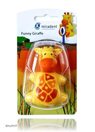 Zahnbürstenhalter Giraffe Miradent