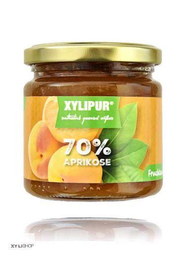 XYLIPUR Aprikose Fruchtaufstrich, ohne Zuckerzusatz 200g