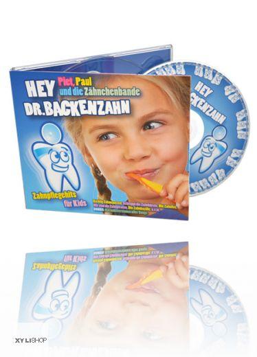 Hey Dr. Backenzahn Musik CD, Zahnpflegehits für Kids