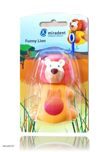 Zahnbürstenhalter Löwe Miradent