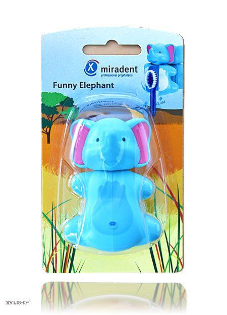 Zahnbürstenhalter Elephant Miradent