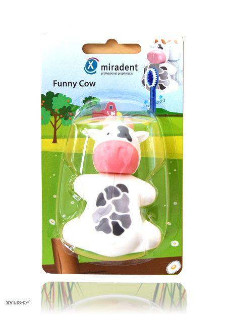 Zahnbürstenhalter Kuh Miradent