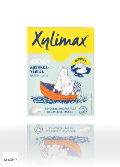 Xylimax Blaubeer-Vanille Xylit Pastillen 55g in Box