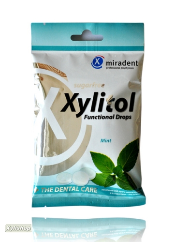Miradent Xylit Functional Drops Mint 60g