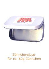 Neu: Zähnchen® Dose weiss - für ca. 60g Xylit Zähnchen