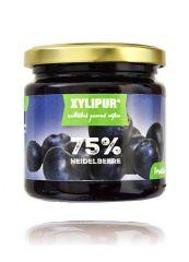 XYLIPUR Heidelbeer Fruchtaufstrich, ohne Zuckerzusatz 200g