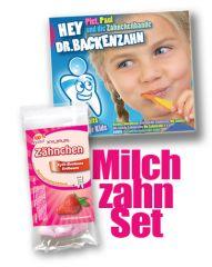 CD Hey Dr. Backenzahn & Zähnchen Erdbeere 30g im Set